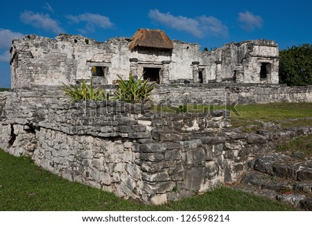 Tulum, old ruins in Mexico