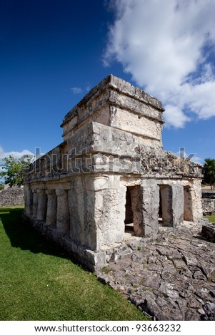 Tulum ruins in the Riviera Maya, Mexico.