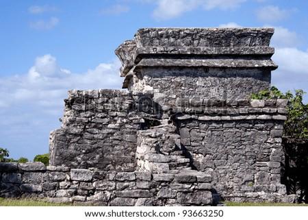 Tulum ruins in the Riviera Maya, Mexico.