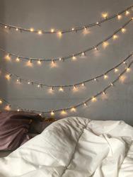 Tumblr light aesthetic bedroom design ideas