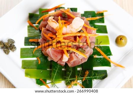 Tuna, bluefin, tartar #266990408
