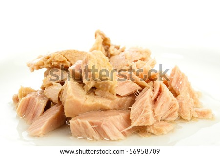 tuna fish closeup