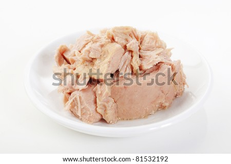 tuna in a bowl