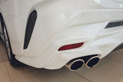 Tuned Customised Cars kit car white body.