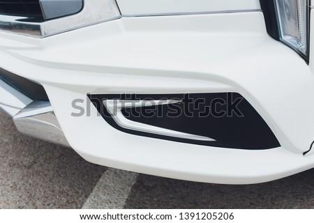 Tuned Customised Cars kit car white body. #1391205206