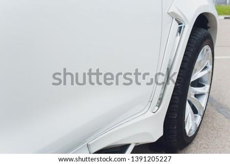 Tuned Customised Cars kit car white body. #1391205227