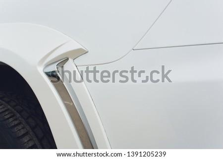 Tuned Customised Cars kit car white body. #1391205239
