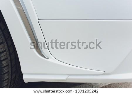 Tuned Customised Cars kit car white body. #1391205242