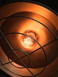 Tungsten light for warmth in the dark