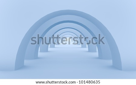 tunnel - 3d design  template