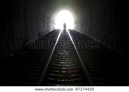 Tunnel ghost.