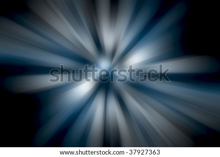 tunnel of diminishing light to an unknown vanishing point