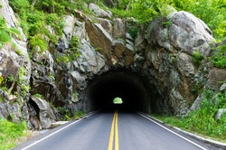 Tunnel on a Lonely Road