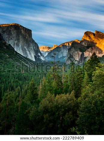 Stock Photo Tunnel View Yosemite