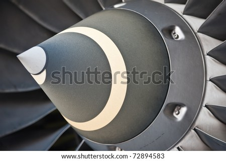 Turbine Blades of An Aircraft Jet Engine