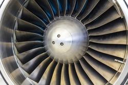 Turbine Blades of an Airplane Jet Engine I