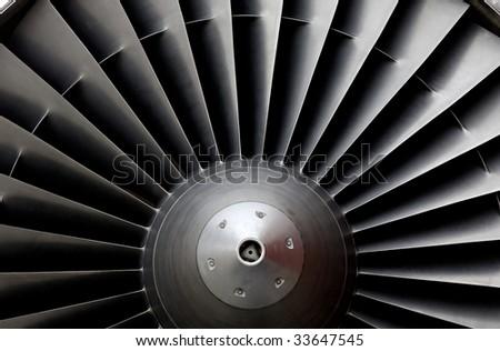 Turbine of an airplane