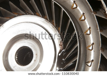 Turbine of an automatic transmission