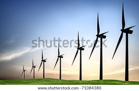 Turbines landscape
