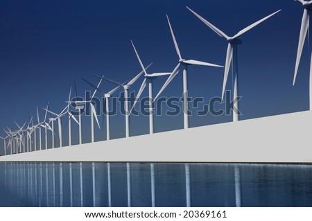 turbines park