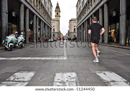 "TURIN - APRIL 18: Athletes train before the international competition ""Tutta Dritta"". April 18, 2010 Turin, Italy."