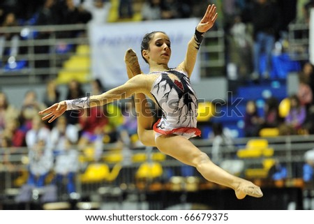 TURIN, ITALY - DECEMBER 04: Maria VILUCCHI performs during the A1 Italian Championship Final on December 04 2010 - Turin, Italy.