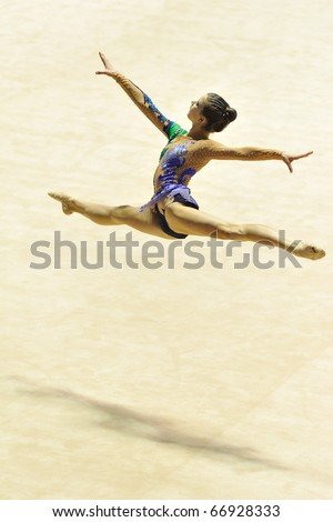 TURIN, ITALY - DECEMBER 04: Sofia LODI performs during the A1 Italian Championship Final on December 04 2010 - Turin, Italy.
