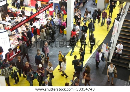 TURIN, ITALY - MAY 18: International Book Fair (Salone Internazionale del Libro), may 18 2010 in Turin, Italy