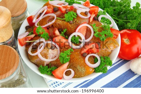 Turkey meat in bowl close up