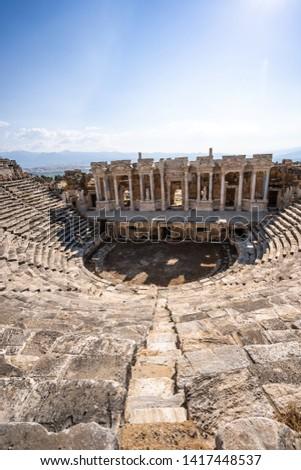 Turkey Pamukkale Hierapolis Ancient City