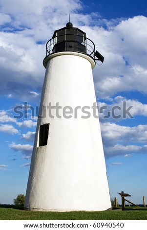 Turkey Point Lighthouse,Chesapeake Bay,Maryland,USA
