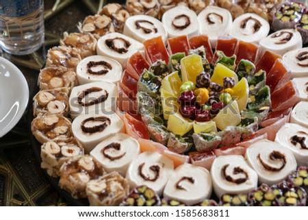 Turkish delight close up photo Stok fotoğraf ©