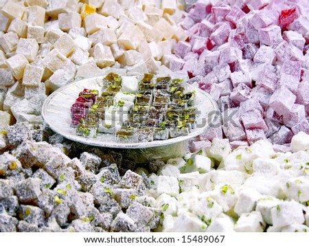 Turkish Delight plate on fruity others