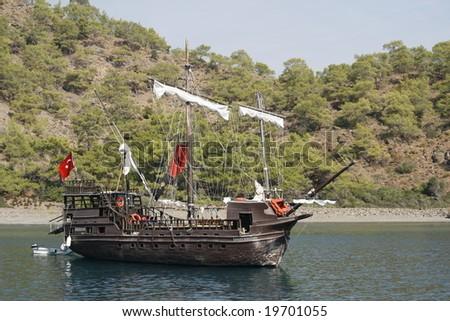 Turkish pirate boat