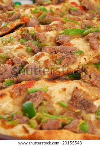 turkish pita cut in small chunks