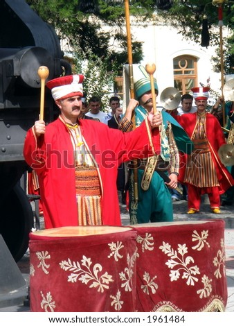 Turkish Soldiers in Parade