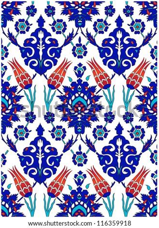 Turkish tile design