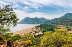 Turkish village between Mediterranean Sea and Taurus Mountains - Cirali, Antalya Province, Turkey, Asia
