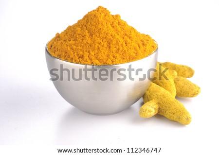 Turmeric powder and turmeric sticks