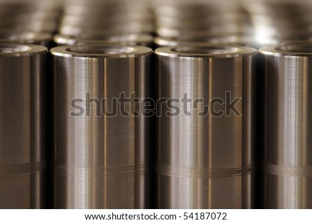 Turned metal cylinders