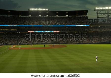 Turner Field by night