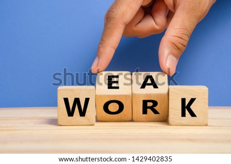 """turning the word """"weak"""" to """"work"""" , correct and improve concept"""