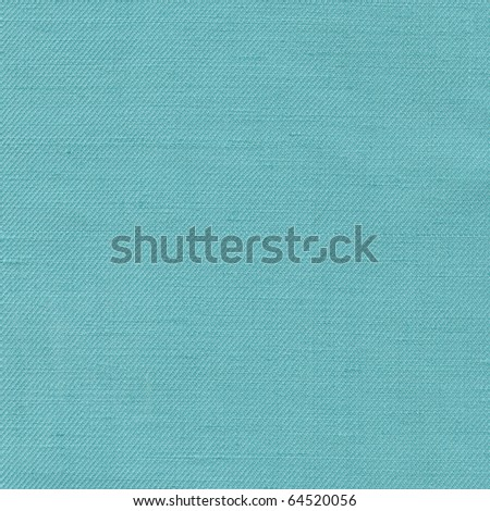 Turquoise fabric as background