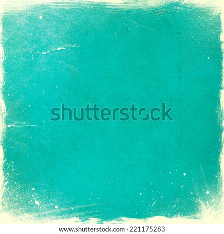 Shutterstock Turquoise grunge texture or background