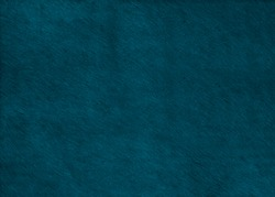 Turquoise hair on hide leather texture