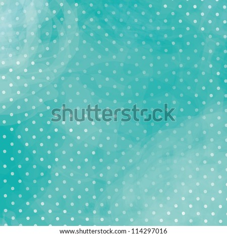 Turquoise polka dot background with a beautiful blue Purple polka dot background with beautiful blur