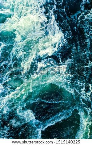 Turquoise waves - waves crashing #1515140225