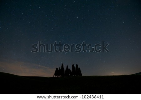 tuscany in the night