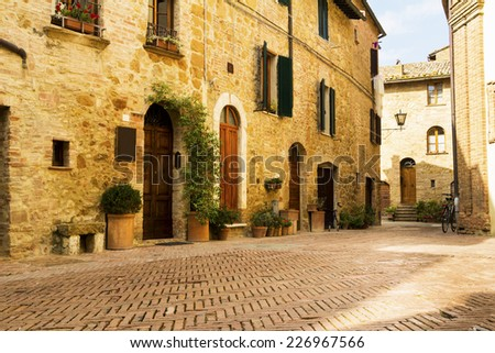 tuscany  italy   old vintage...