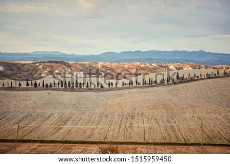 Tuscany - Italy. Tuscany hills, panorama. background #1515959450